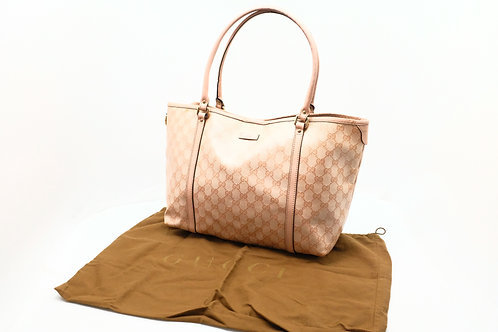 Gucci Tote Bag in Light Pink GG Canvas