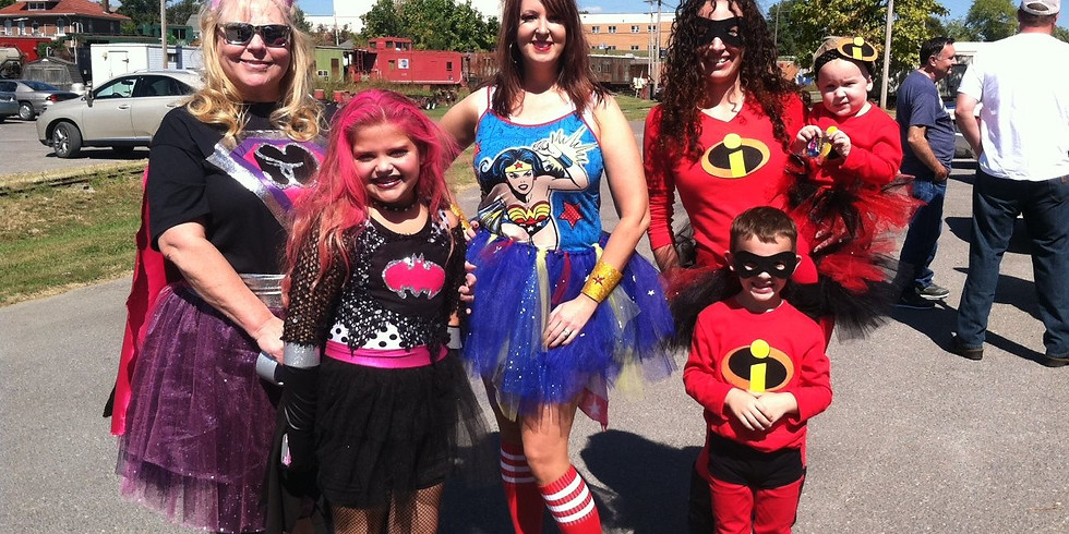 Super Heroes and Princesses