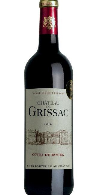 Château de Grissac, Cotes de Bourg, Bordeaux 2016