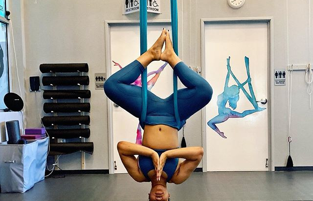 What to expect from your first Aerial Yoga class!