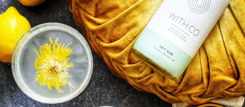 Chrysanthemum Lemon Cucumber Cocktail Recipe