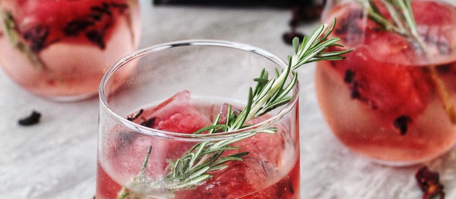 Cool off with CBD Hibiscus Tea-Mosas!