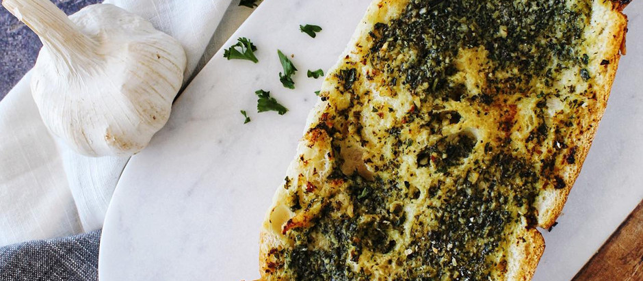 Garlic Herb Butter Bread Recipe
