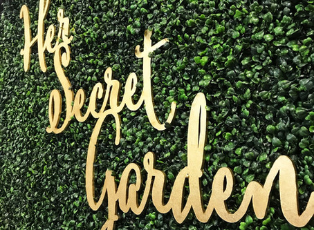 All About V Steam With Her Secret Garden