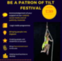 TILT Festival Birmingham Patron