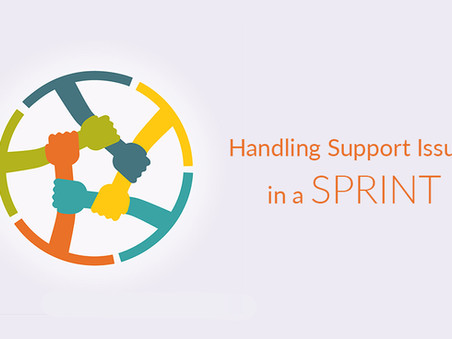 Handling Support Issues in a Sprint