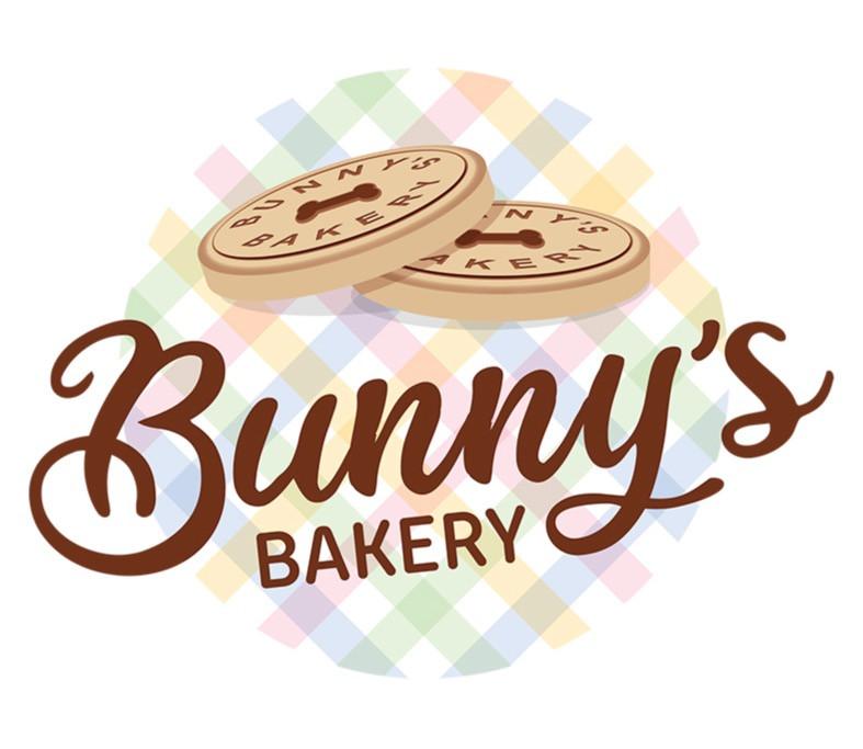 Bunny's Bakery Logo Graphic Design