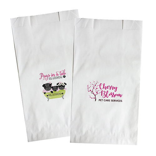 white paper bags (pack of 10)