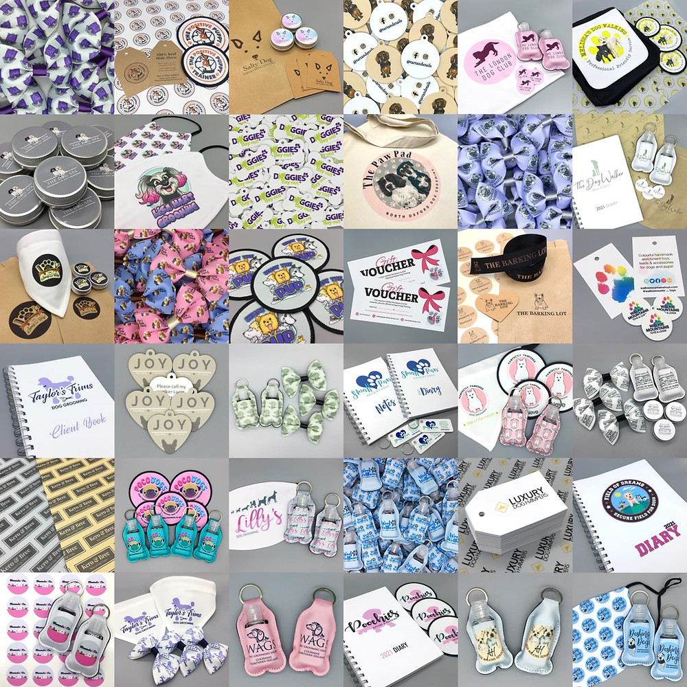 Branded products for pet businesses