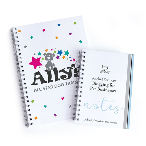 Branded A4 A5 notepads