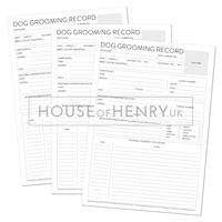 Dog Grooming Record