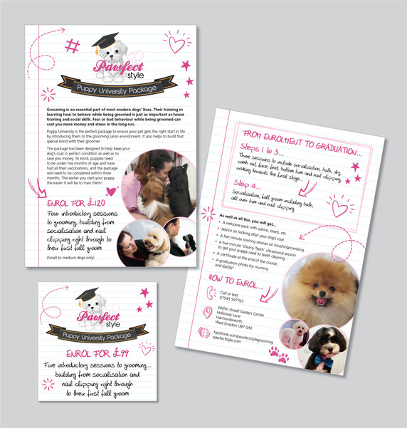 Pawfect Style Graphic Design