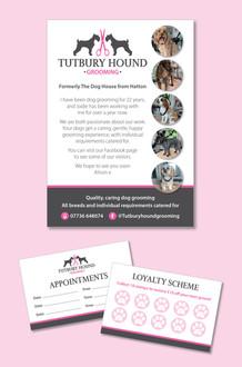 The Tutbury Hound Boutique Graphic Design
