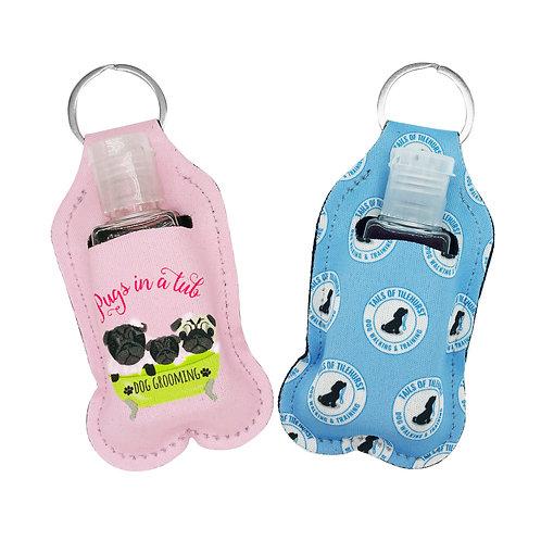 hand sanitiser holders (pack of 2)