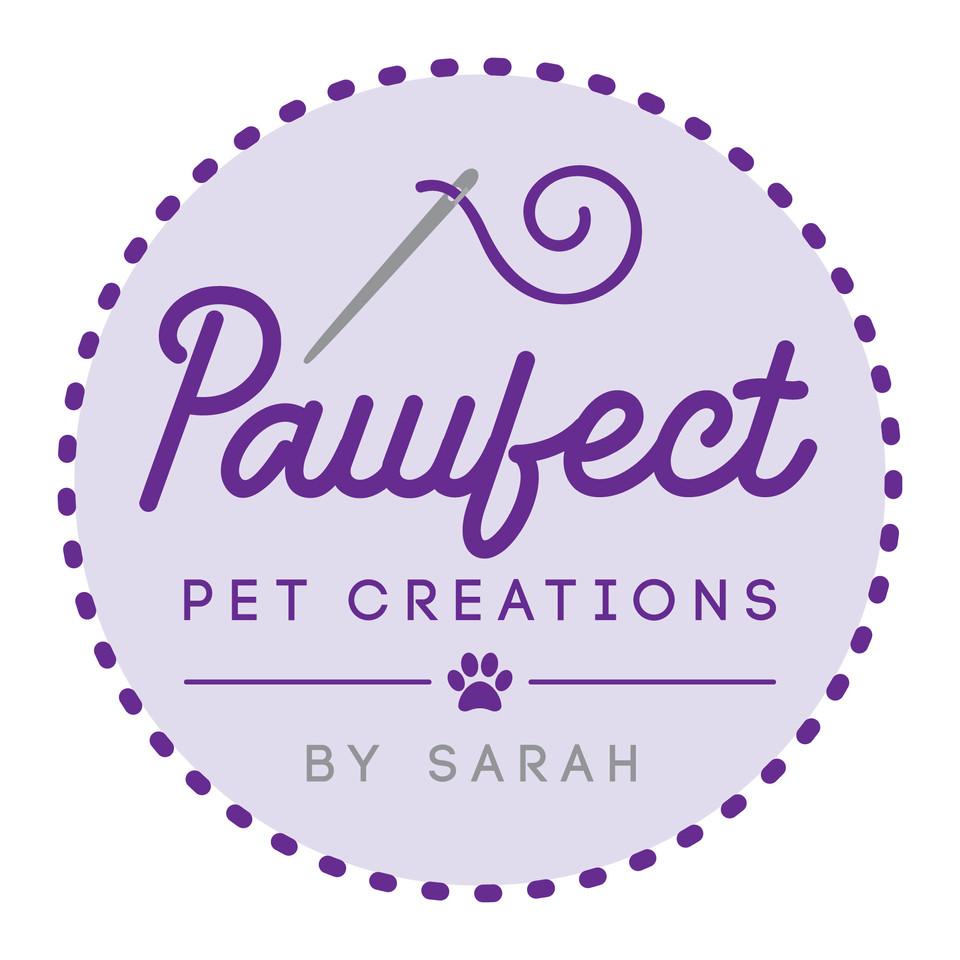 Pawfect Pet Creations Logo Graphic Design