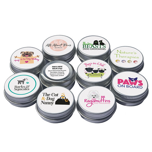 paw & nose balms (packs of 5 and 10)