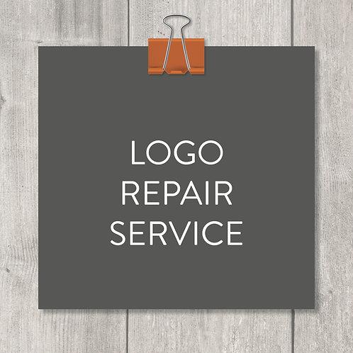 logo repair service