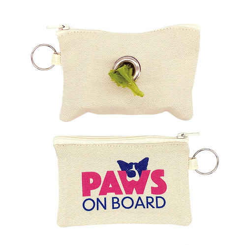 poo bag dispenser pouch