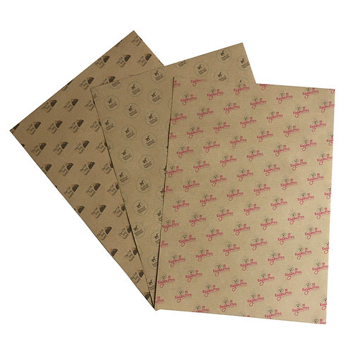 A4 kraft wrapping sheets (pack of 10)