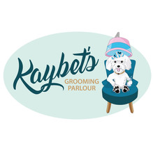 Kaybets Grooming Parlour Logo Graphic Design