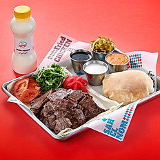 Original Beef Shawarma Platter.