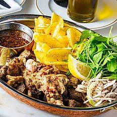 Grilled Lamb Liver