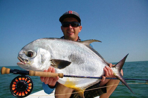 Florida Keys Permit on fly.