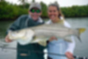 Hutton Fohey from GA with a huge Snook on top water.