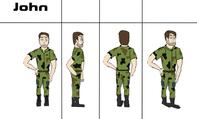 John hero design character sheet
