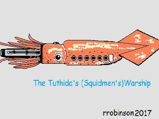The Tuthida : Squidmen the Enemy of The District of PAW (Protection for All Women)