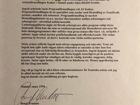 Artistförmedlare i Malmö