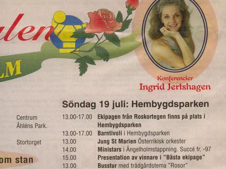 Rosfestivalen i Ängelholm