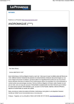 "Article ""Andromaque"""