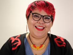 Kajâtai-Alexandra Veillette-Cheezo of the Anishnabe Nation