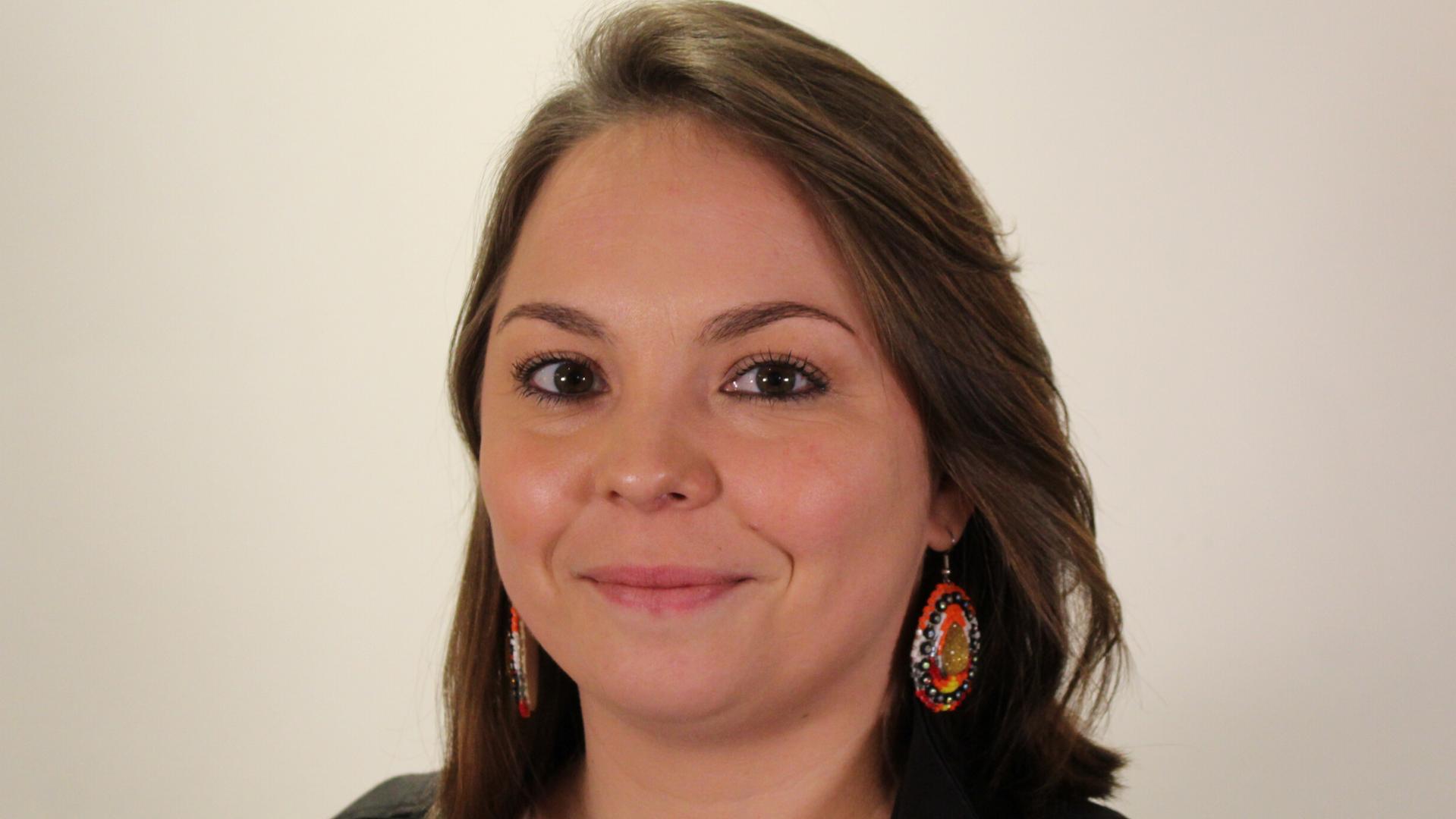 Tina Mapachee de la nation Anicinape