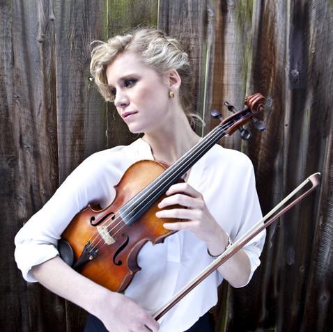 Georgina Leach, Violin