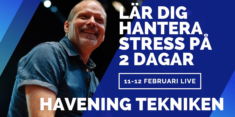 SVENSKA: Havening Kurs, Sthlm 11-12:e Februari 2021