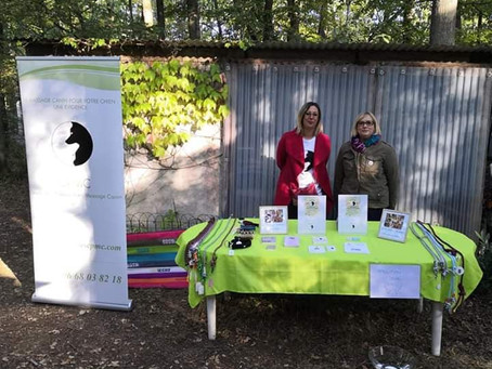 Le CPMC était aux journées portes ouvertes chez Sylvia Education Canine