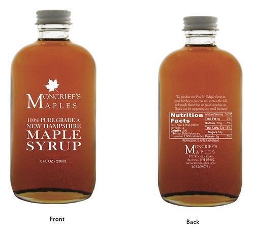 16oz Moncriefs Maple Signature Glass Bottle