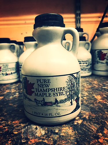 1 Pint Jug of Pure NH Maple Syrup