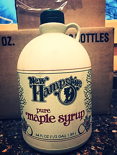 1/2 Gallon of Pure NH maple Syrup