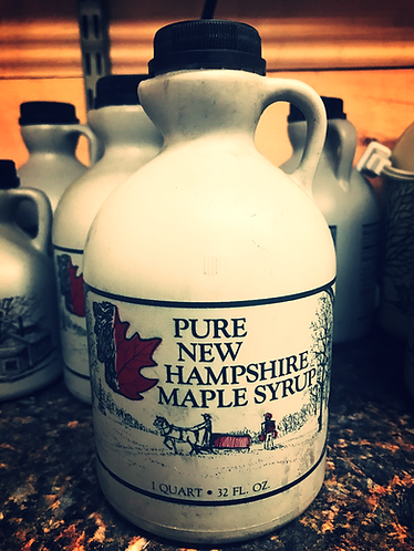 1 Quart Jug of Pure NH Maple Syrup