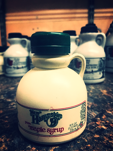 1/2 Pint Jug Of Pure NH Maple Syrup