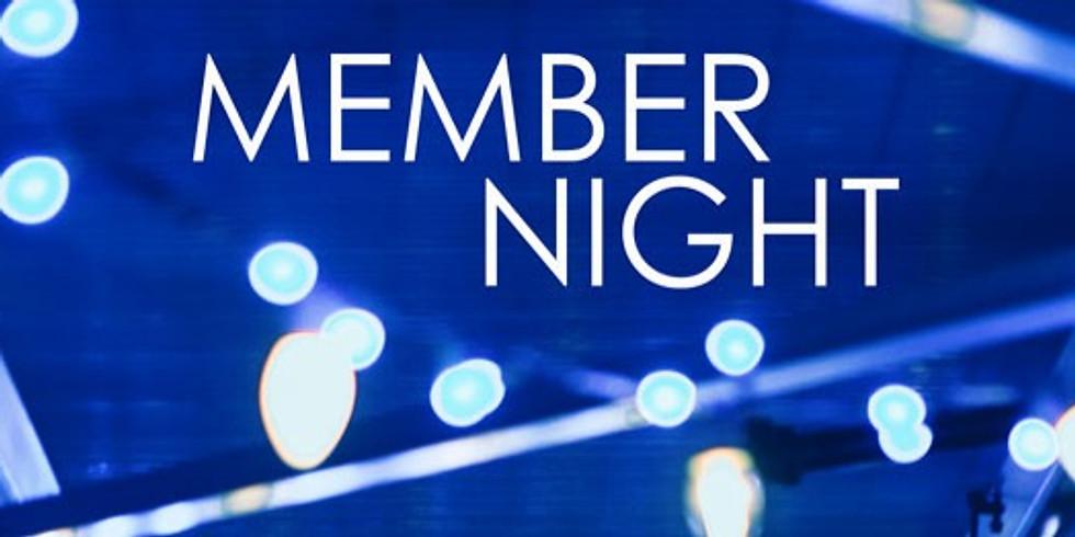 Member Night & Volunteer Appreciation