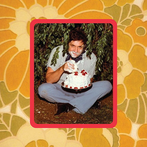 johnny cash - birthday boy - vinyl sticker