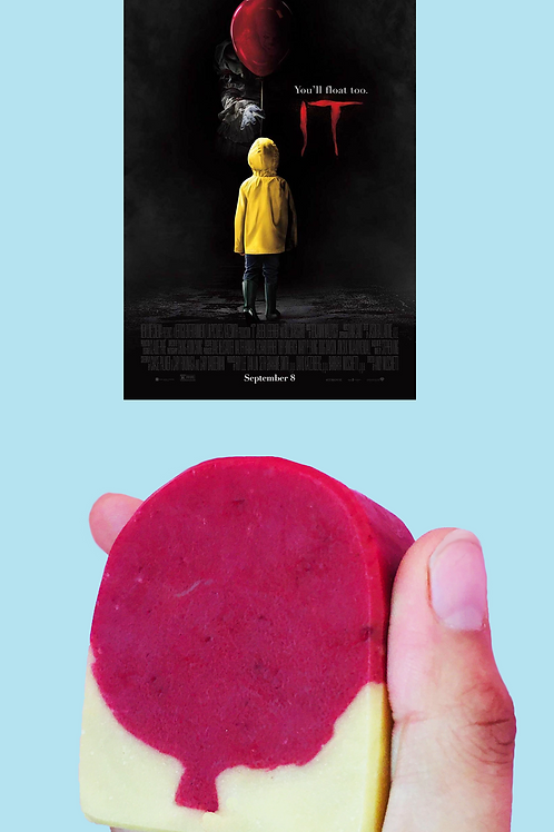 pennywise steven king stephen king IT handmade vegan soap red balloon we all float down here