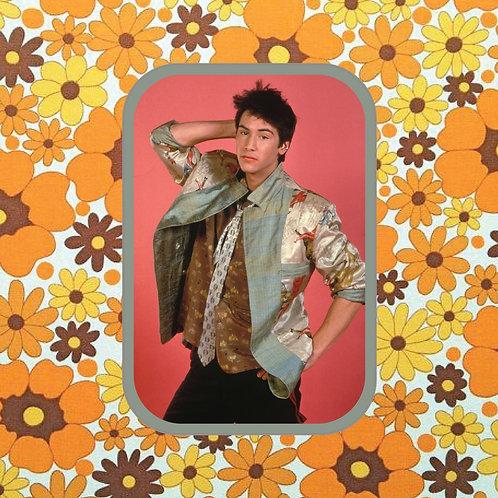 keanu reeves - fashion boy - vinyl sticker