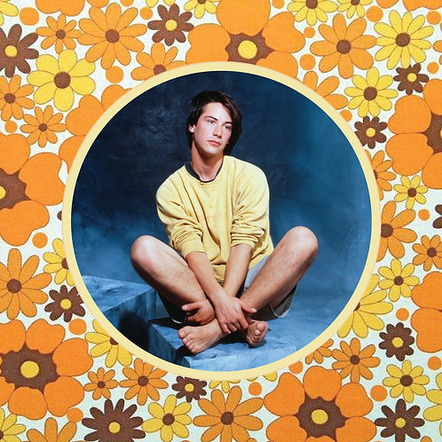 keanu reeves - precious boy - vinyl sticker