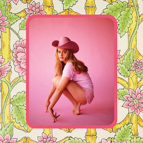 alicia silverstone - before there was Gaga - vinyl sticker