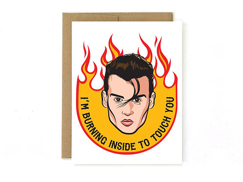 cry-baby - inspired love card